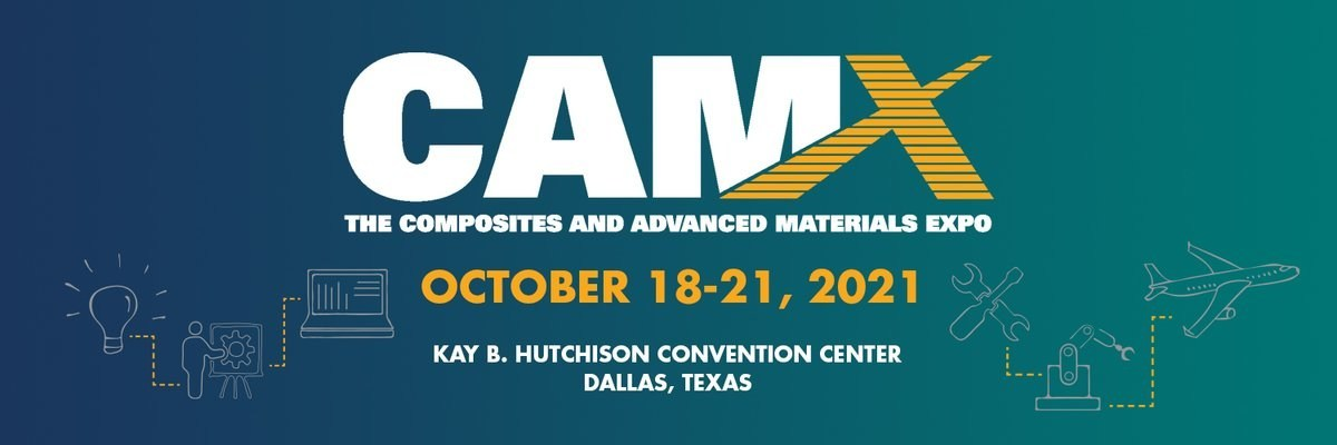 Ascent Aerospace will be exhibiting in booth L49 at CAMX 2021 in Dallas, Texas.