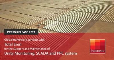 Utility Scale PV Plant (PRNewsfoto/Inaccess Ltd)