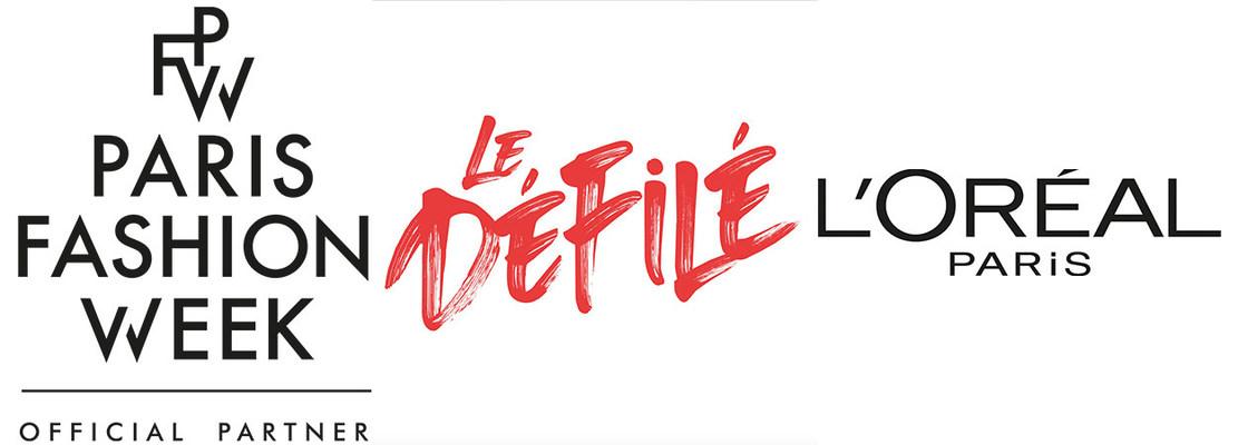 Paris Fashion Week, Le Defile & L'Oreal logo