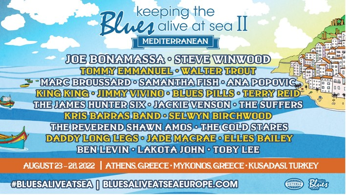 Keeping The Blues Alive At Sea