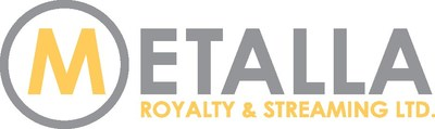 Metalla Royalty Logo (CNW Group/Metalla Royalty and Streaming Ltd.)