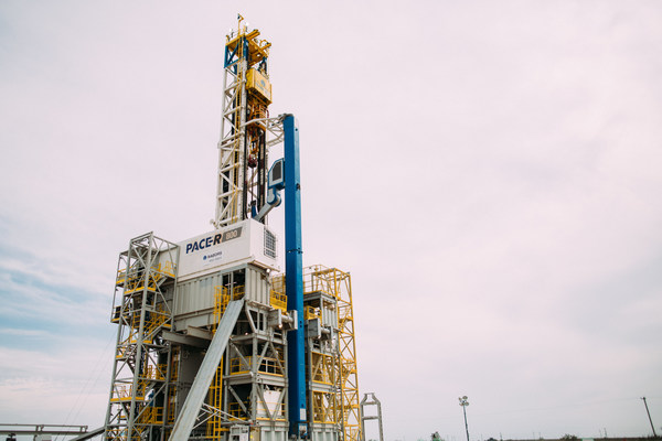 Nabors PACE®-R801, the world's first fully automated land drilling rig