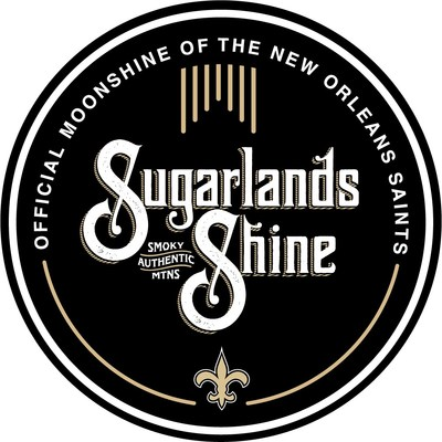 """Sugarlands Distilling Co., an award-winning craft distillery, along with the NFL's New Orleans Saints announced a multiyear partnership making Sugarlands Shine the """"Official Moonshine of the Saints."""" As part of the deal, Sugarlands will also produce two specialty products unique to the New Orleans market and surrounding areas."""